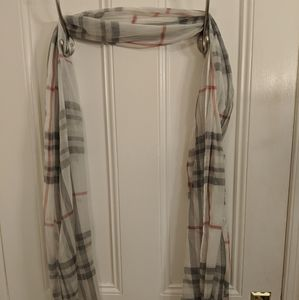NEW Lord and Taylor sheer scarf